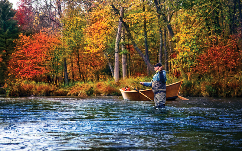 Fishing in the Upper Peninsula