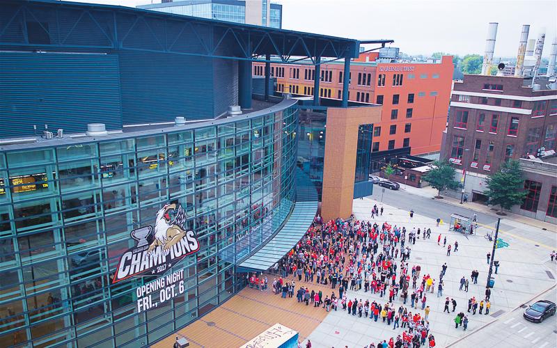 Stadium in Grand Rapids