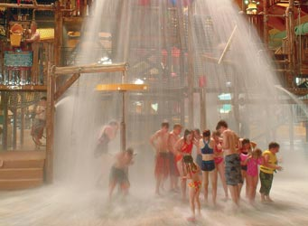 Splash and Slide at an Indoor Water Playground | Michigan