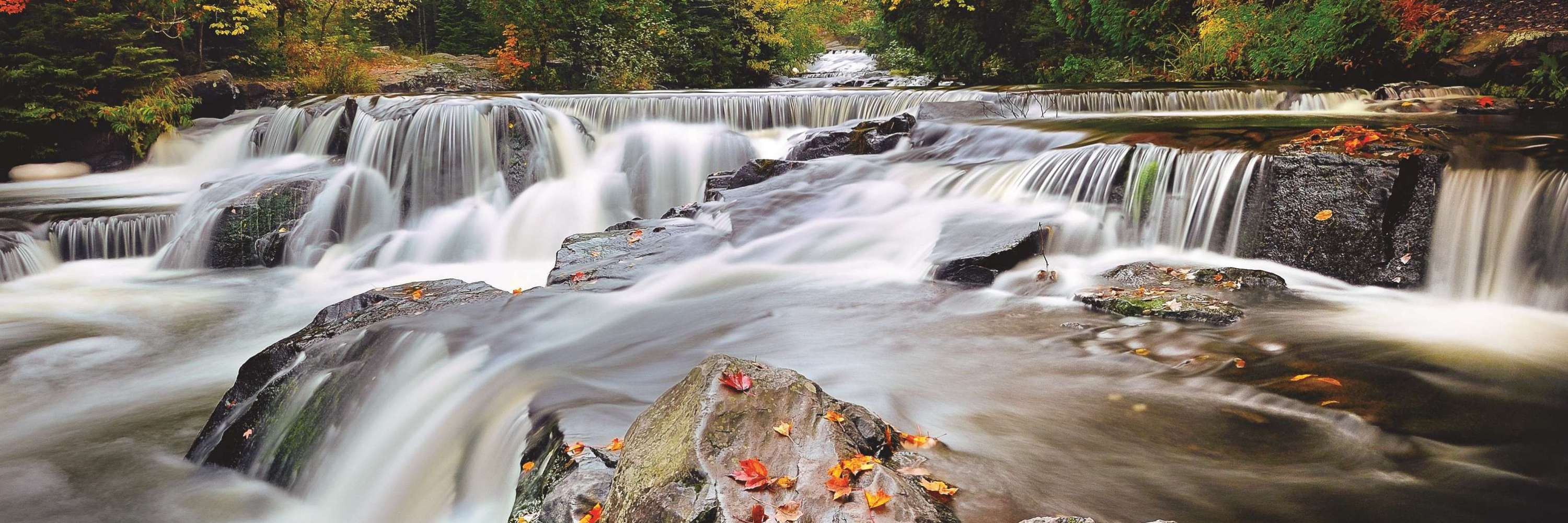 Upper Bond Falls in the Fall