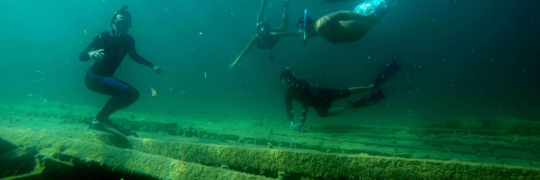 Alpena Shipwreck Snorkel pc Alpena CVB