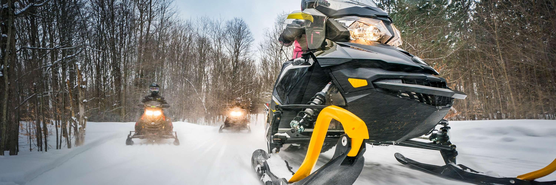 Snowmobiling | Michigan on