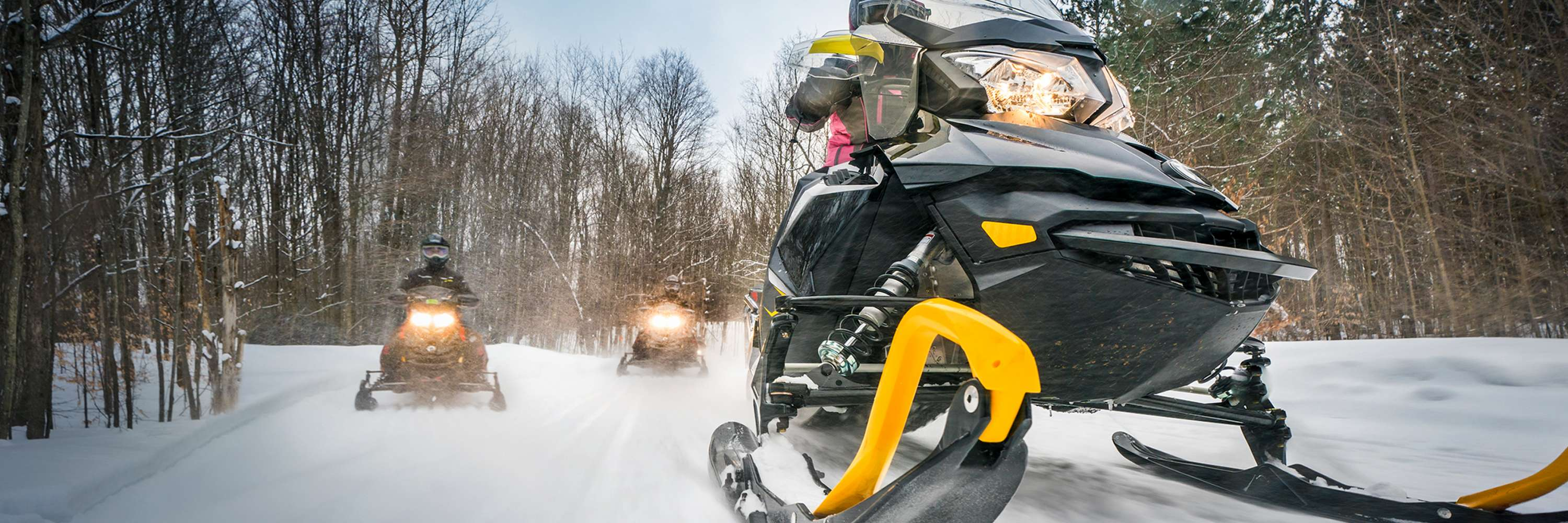 Pure Michigan Snowmobiling