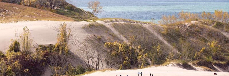Climbing Warren Dunes