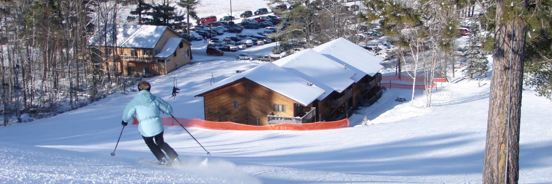 Skiing Iron Mountain