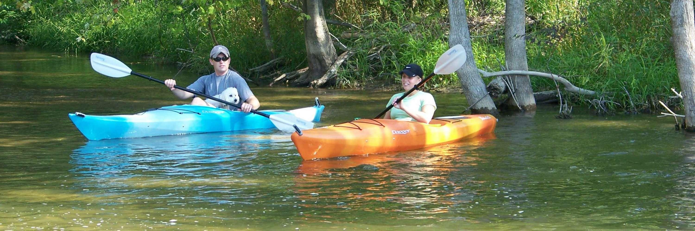 Kayak Adventure on Chippewa River Photo Courtesy Mt. Pleasant