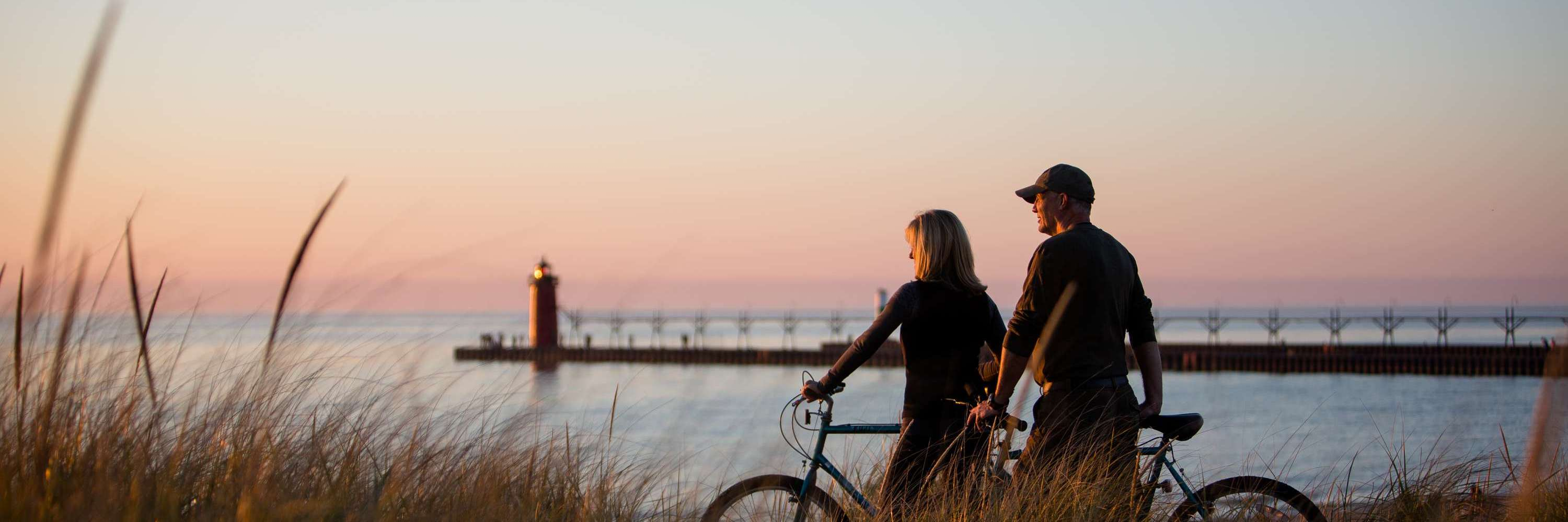 Biking in South Haven