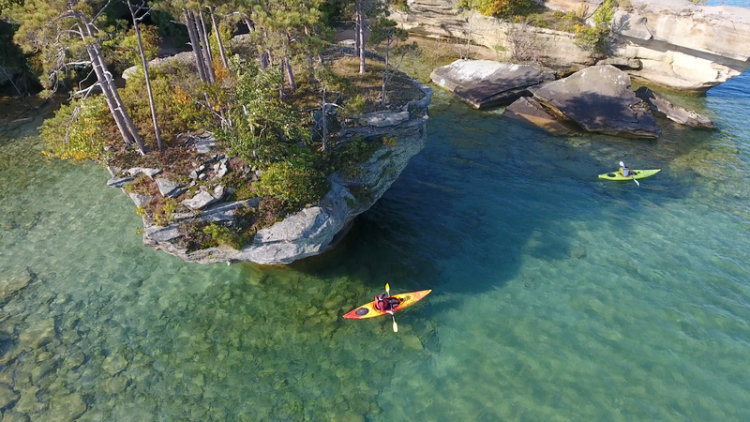 Paddle Sports on Lake Huron