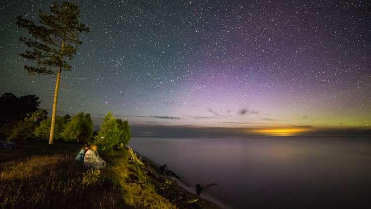 Dark Skies on Lake Superior