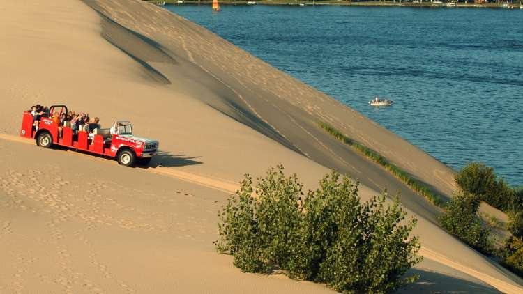 Experience The Silver Lake Sand Dunes Like Never Before On A One Of Kind 40 Minute 7 Mile Ride