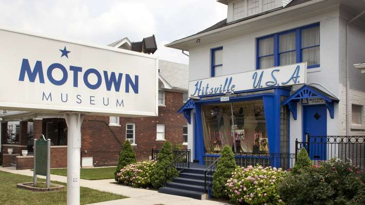 """The Motown Museum in Detroit  - """"Hitsville U.S.A."""""""