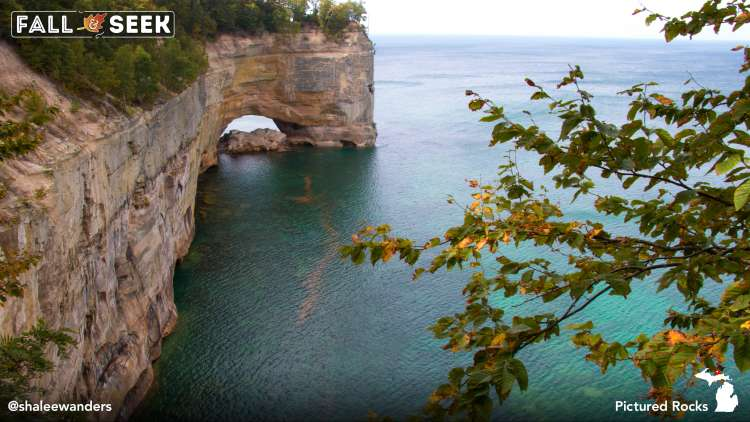 Pictured Rocks in Michigan, Photo by Shalee Blackmer