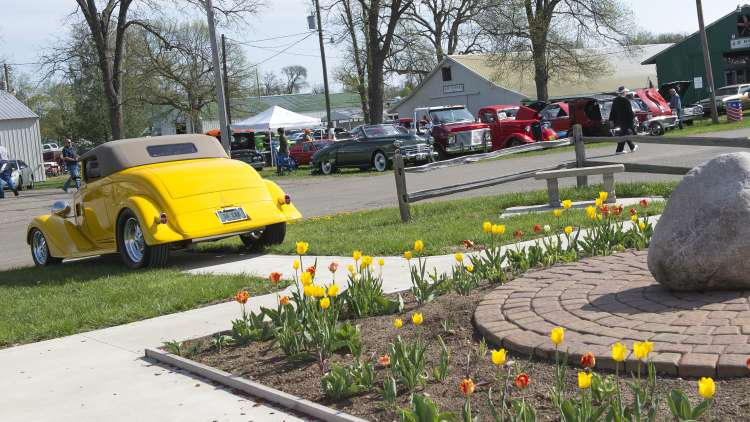 See More Than 1 200 Cars Including 100 Show Quality Cycles At The Annual Coldwater Car