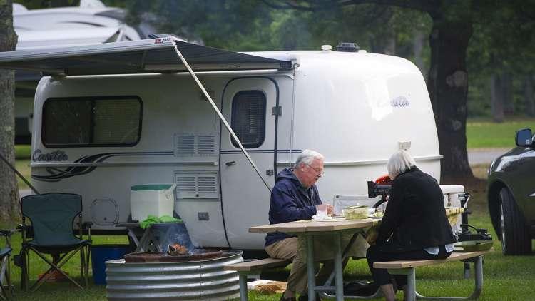 Full hookup camping in michigan