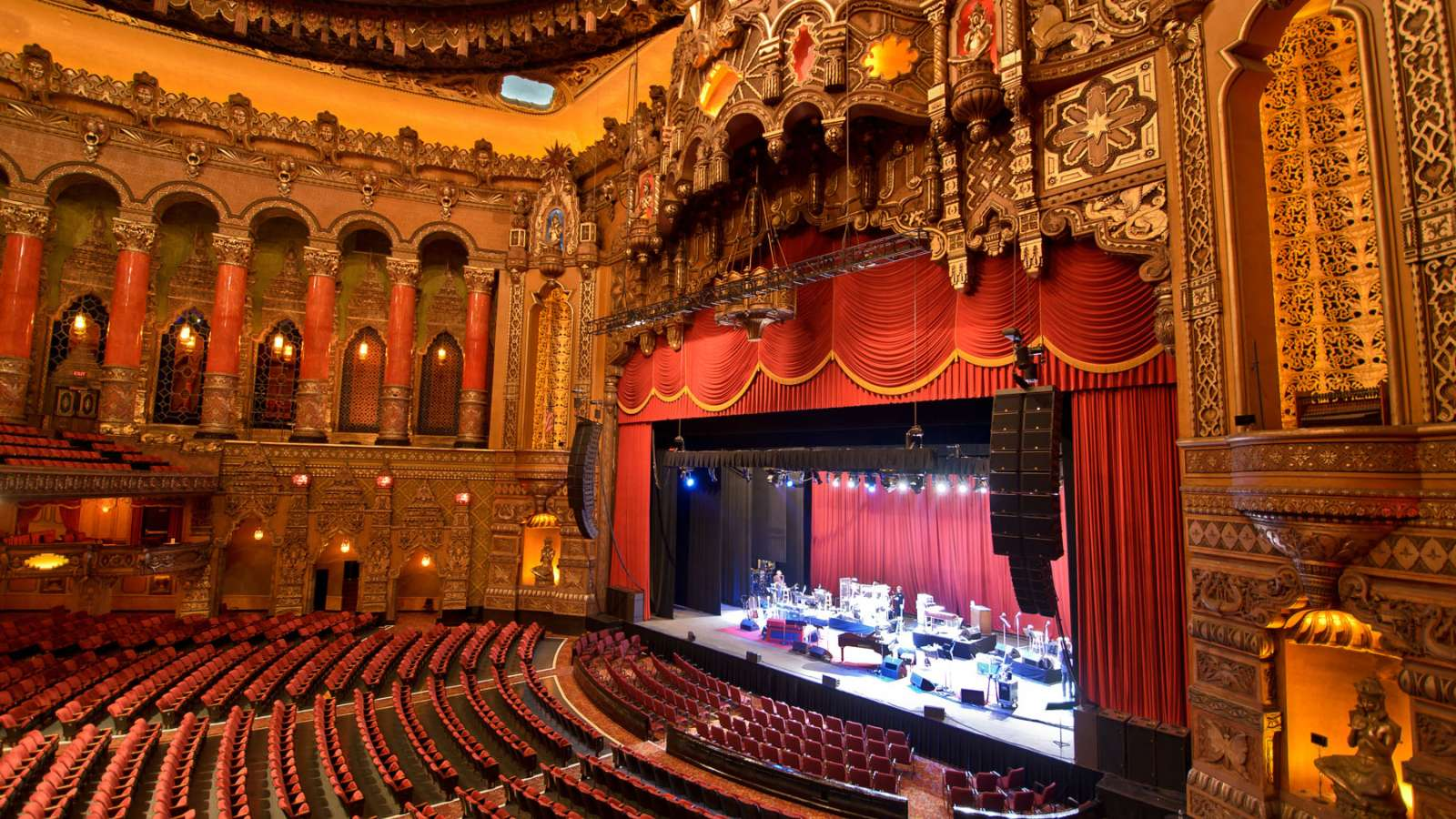 Fox Theatre in Detroit, Michigan