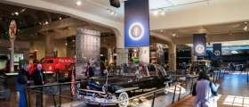 The Henry Ford Museum in Dearborn
