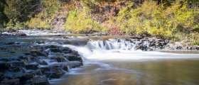 Ocqueoc Falls during Autumn