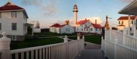 Whitefish Point Light Station.