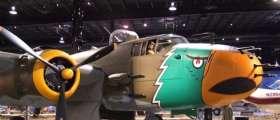 Vintage airplane at the Air Zoo.