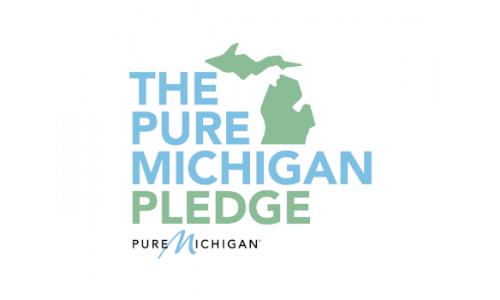 Pure Michigan Pledge Logo