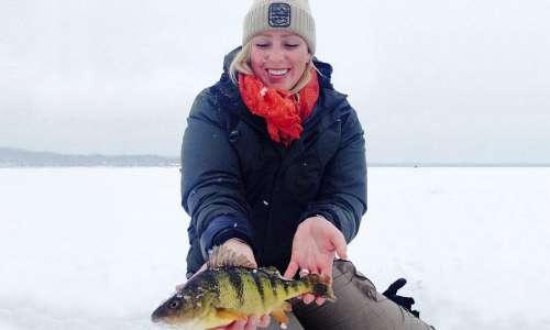 Ice Fishing Michigan