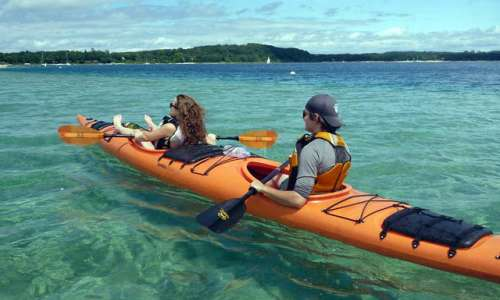 Experience an Exciting Culinary Kayak Tour in Benzie County