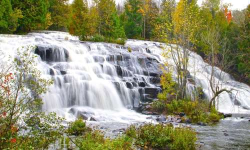 Fall Color Tours at Bond Falls