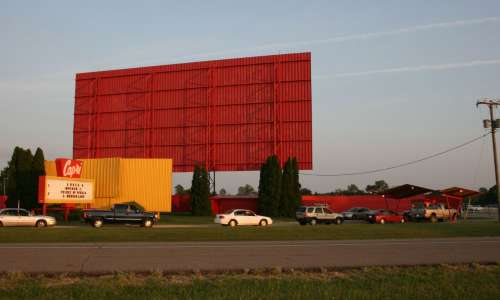 Drive-In Movie Theatre in Michigan