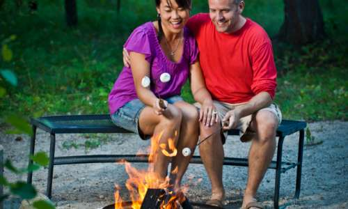 Stress Relief, Peace of Mind, Relaxation—Let's Go Camping