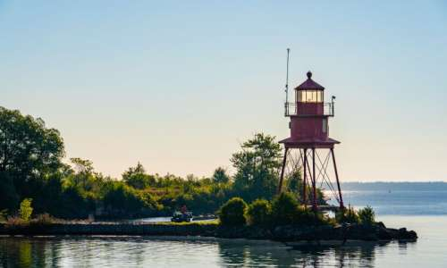 Alpena Lighthouse on Thunder Bay
