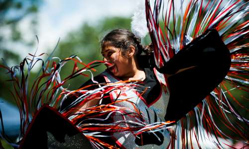 Native American Dancer - Photo by Kendra Stanley Mills