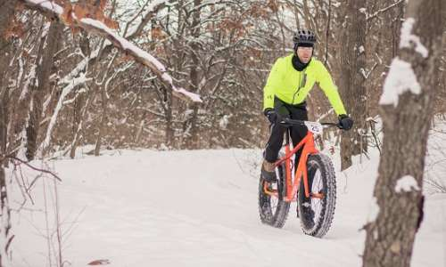 Experience Winter Cycling on These West Michigan Trails