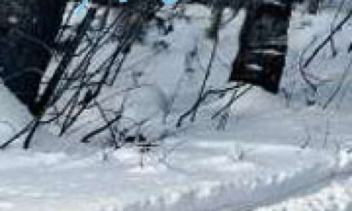 Winter Ziplining in Pure Michigan