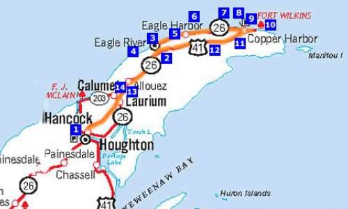 Houghton - Eagle River - Copper Harbor