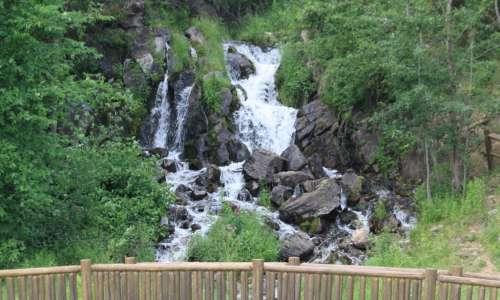 Fumee Falls in Iron Mountain