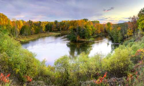 20 Stops for a Fall Color Tour through West Michigan