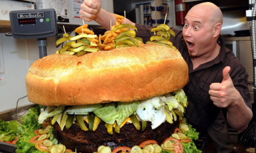 Michigan Food Challenges That Are Sure to Make You Hungry