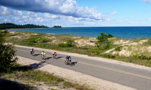 Explore the Most Breathtaking Michigan Scenery, From the Seat of Your Bicycle