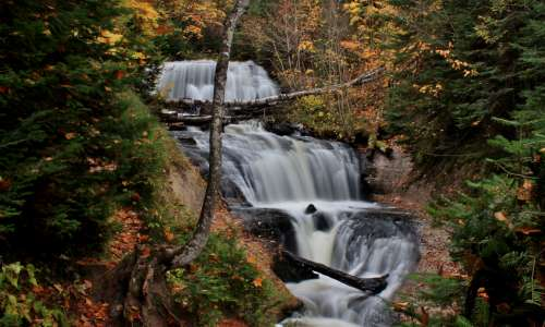 A List of Enchanting Michigan Waterfalls to Visit Year Round