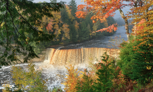 Tahquamenon Falls Upper Peninsula, Michigan