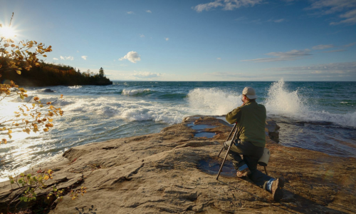 Photographer captures a Pure Michigan shoreline
