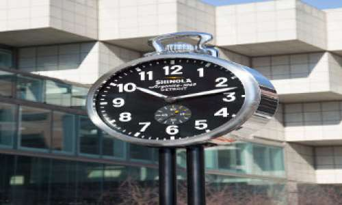 Shinola Clock