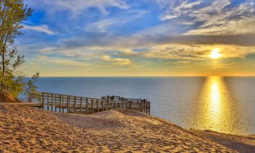Sleeping Bear Dunes in Pure Michigan
