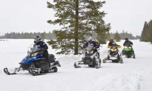 Snowmobile Trails in Michigan