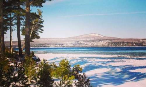 Benzie County Michigan Trail Guide For hiking biking crosscountry skiing and snowshoeing