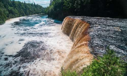 Cascading Exploits at Tahquamenon Falls