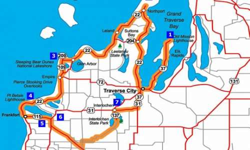 Traverse City - Northport - Frankfort