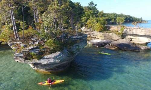 5 Kayak Trips For Exploring the Eastern Shores of Michigan
