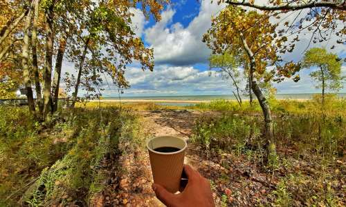Coffee at Bay City State Park