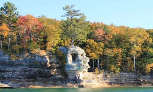 4 Ways to See Fall Foliage at Pictured Rocks National Lakeshore
